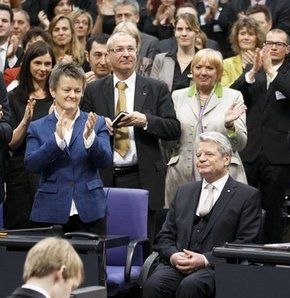 Almanya'ya rahip cumhurbaşkanı