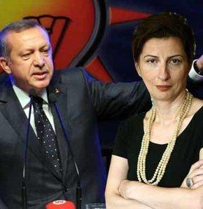 Erdoğan'dan Nuray Mert'e çok sert sözler!