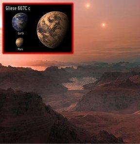 Gliese 667Cc işte dünyanın rakibi!