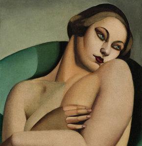 Lempicka'nın tablosu açık artırmaya çıkarılıyor