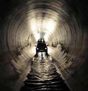 Melen Projesi'nde tünelin ucu göründü