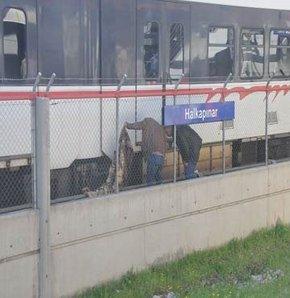 Metroda şok intihar!