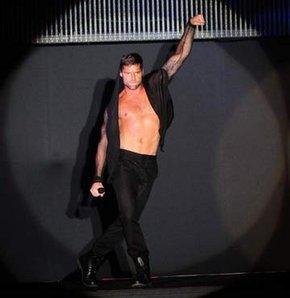 Ricky Martin coşturdu!