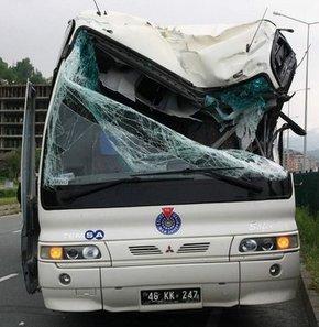 Rize'de inanılmaz kaza