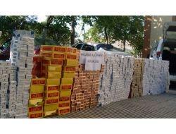 Akçadağ'da 13 Bin 480 Paket Kaçak Sigara Ele Geçirildi