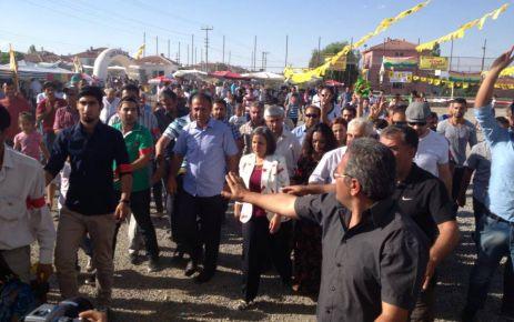 BDP Vekilleri Festival için Omaro'da