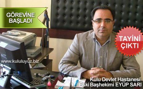 Dr.Eyüp Sarı Ankara'ya Atandı