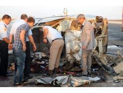 Düğün Konvoyunda Kaza: 4 Ölü, 3 Yaralı