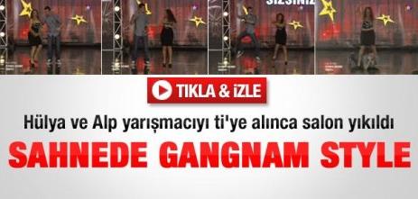 Gangnam Style şarkısı Yetenek Sizsiniz Yarışması'nda