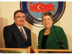 İçişleri Bakanı Şahin, Abd'li Bakan İle Görüştü