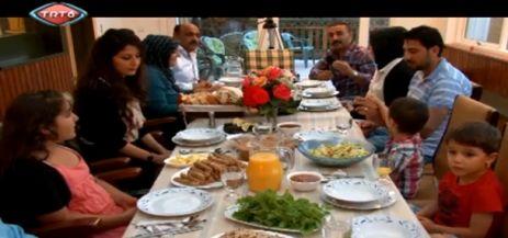 Iftarda Omarolu aile TRT6'yi Konuk Etti
