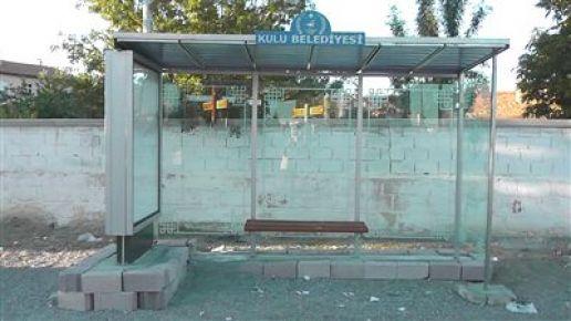 Kulu'da 16 Ayrı Yere Otobüs Durağı Yerleştiriliyor