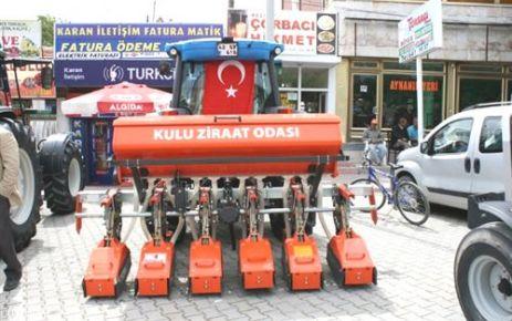 Kulu'da Hibe Traktör Başvuruları Başladı