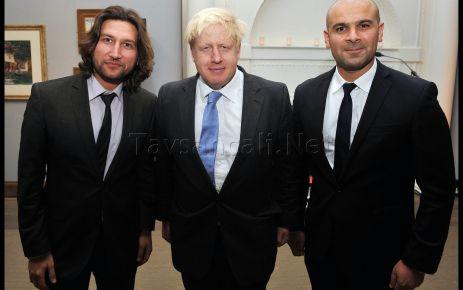 Londra Belediye Baskani'nin Davetine katıldı ..