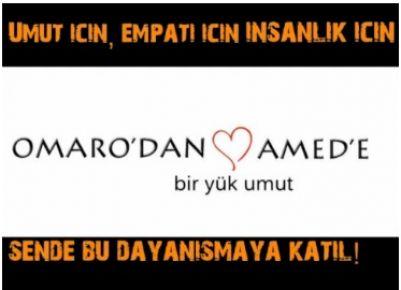 Omaro'dan Amed'e bir yük umut.