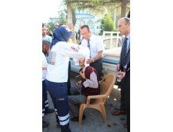 Sahibinden Kurtulan İnek 5 Kişiyi Yaraladı
