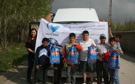 TakeMyHand Derneği Van'a destek projesi