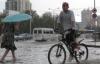 Astana'da Şiddetli Yağmur Hayatı Felç Etti