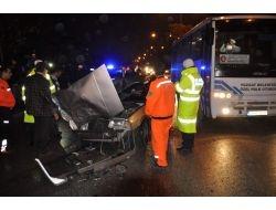 Yozgat'ta Trafik Kazası: 1 Ölü 2 Yaralı