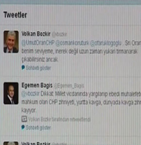Twitter'da diplomatik kavga!