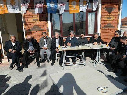 AK Parti İlçe Teşkilatından Beldelere Ziyaret.