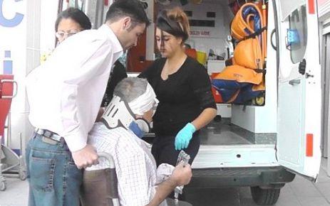 Tavsancali yakınlarında kaza : 4 Yaralı